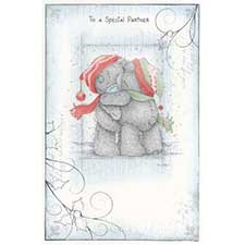 Special Partner Me to You Bear Christmas Card