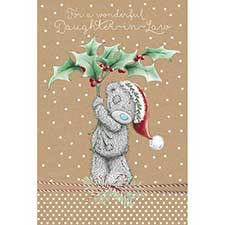 Daughter-In-Law Me to You Bear Christmas Card