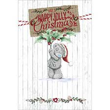 Happy Jolly Christmas Me to You Bear Card