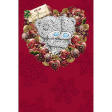 Girlfriend Me to You Bear Christmas Card