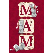 Mam Me to You Bear Christmas Card