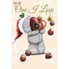 One I Love Me to You Bear Christmas Card