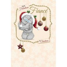Fiance Me to You Bear Christmas Card