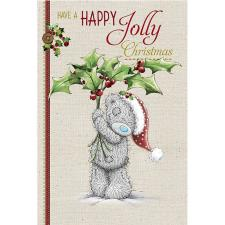 Happy Jolly Christmas Bear With Mistletoe Me to You Bear Christmas Card