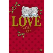 Love of My Love Me to You Bear Christmas Card
