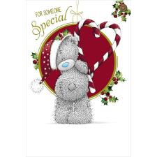 Someone Special Bear With Candy Cane Me to You Bear Christmas Card
