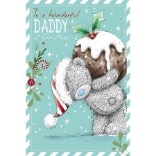 Wonderful Daddy Me to You Bear Christmas Card
