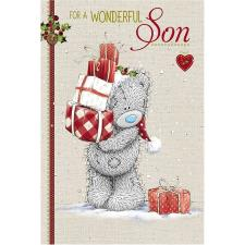 Wonderful Son Me to You Bear Christmas Card