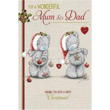 Wonderful Mum & Dad Me to You Bear Christmas Card