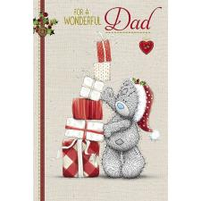 Wonderful Dad Me to You Bear Christmas Card