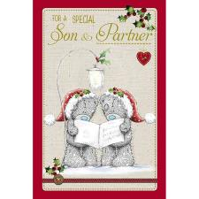 Special Son & Partner Me to You Bear Christmas Card