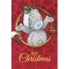 Tatty Teddy Holding Decorations Me to You Bear Christmas Card