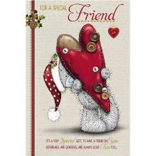 Special Friend Pop Up Me to You Bear Christmas Card