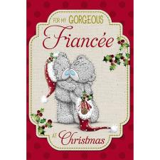 Gorgeous Fiancee Me to You Bear Christmas Card