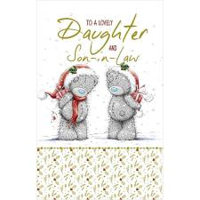 Lovely Daughter And Son-in-Law Me to You Bear Christmas Card