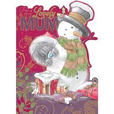 Mum Me to You Bear Christmas Card