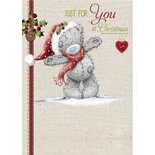 Just For You At Christmas Me to You Bear Christmas Card