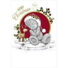 Merry Christmas Bear With Reindeer  Me to You Bear Christmas Card