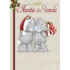 Lovely Auntie and Uncle Me to You Bear Christmas Card