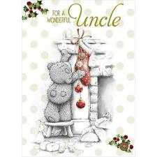 Wonderful Uncle Me to You Bear Christmas Card