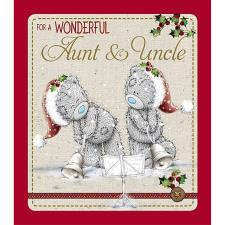 Wonderful Aunt and Uncle Me to You Bear Christmas Card