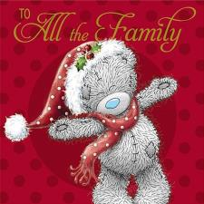 All The Family Me to You Bear Christmas Card