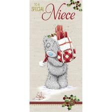 Special Niece Me to You Bear Christmas Card