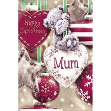 Mum Bear On Heart Bauble Me to You Bear Christmas Card