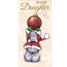 Lovely Daughter Me to You Bear Christmas Money Wallet