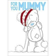 Mummy Sketchbook Me to You Bear Christmas Card