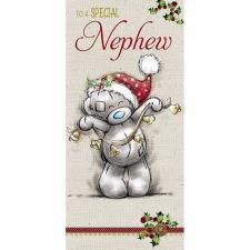 Special Nephew Me to You Bear Christmas Card