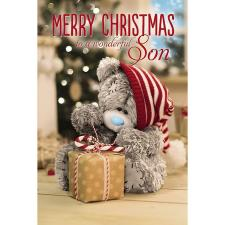 3D Holographic Wonderful Son Me to You Bear Christmas Card