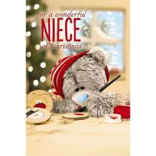 3D Holographic Niece Me to You Bear Christmas Card