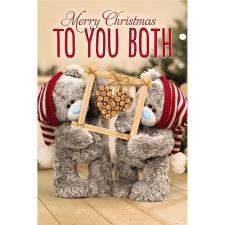 3D Holographic To You Both Me to You Bear Christmas Card