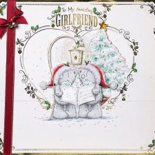 Girlfriend Me To You Bear Luxury Giant Boxed Christmas Card