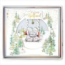 Lovely Girlfriend Me to You Bear Luxury Giant Boxed Christmas Card