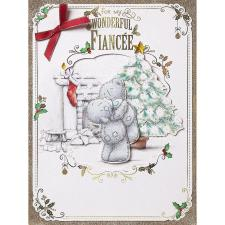 Wonderful Fiancee Me To You Bear Luxury Boxed Christmas Card