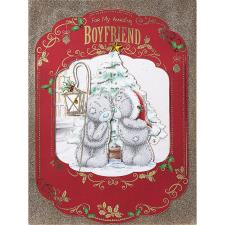 Amazing Boyfriend Me To You Bear Luxury Boxed Christmas Card