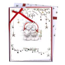 Fabulous Wife Me to You Bear Luxury Boxed Christmas Card