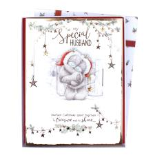 Special Husband Me to You Bear Luxury Boxed Christmas Card
