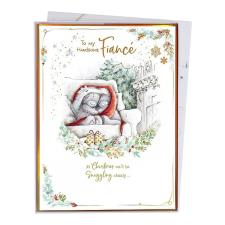 Handsome Fiance Me to You Bear Luxury Boxed Christmas Card