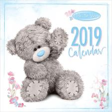 2019 Me to You Bear Photo Finish Square Calendar