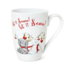 Let It Snow Christmas Me to You Bear Boxed Mug