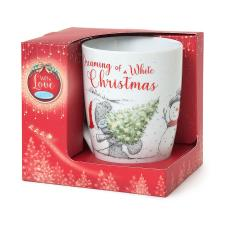 Dreaming of a White Christmas Me to You Bear Boxed Mug