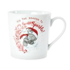 Season To Sparkle Me to You Bear Christmas Boxed Mug