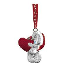 Holding Large Heart Me to You Bear Tree Decoration