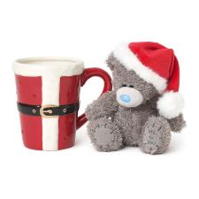 Me to You Bear Santa Outfit Barrel Mug & Plush Gift Set