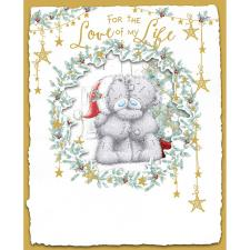 Love Of My Life Handmade Me to You Bear Christmas Card