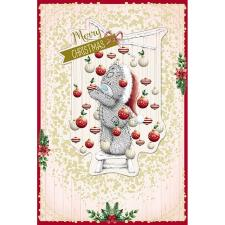 Tatty Teddy Hanging Baubles Me To You Bear Christmas Card
