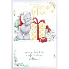 Amazing Mum Pop Up Me To You Bear Christmas Card